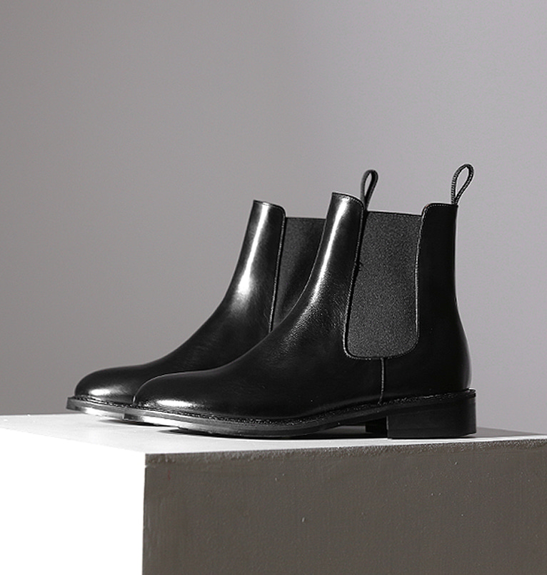 [HANDMADE] BOLD STRAP CHELSEA BOOTS